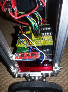 BalanceBot IMU - Sparkfun 9 DOF sensor stick.