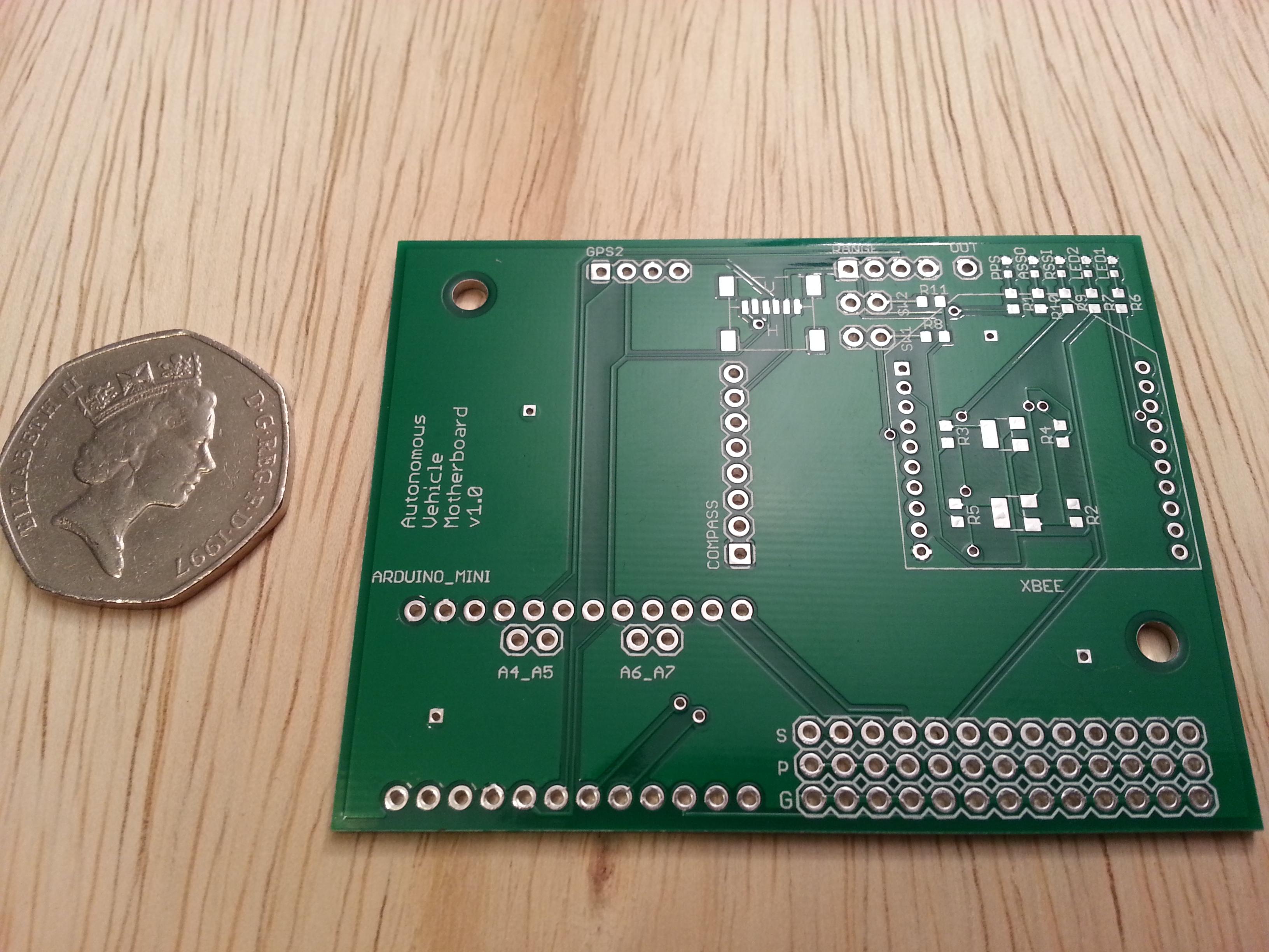 Adding Custom Boards To The Arduino V1: Autonomous Vehicle