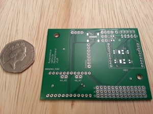 AVC 2013 Arduino Custom PCB v1.0 board