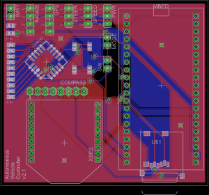 AVC 2013 mBed Custom PCB v2.1 layout