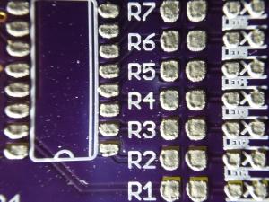 PCB Stencil - Solder paste