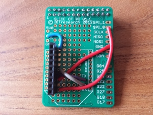 Slice of Pi prototype board