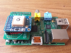 Assembled Raspberry Pi NTP Server