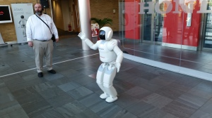 ASIMO at the Honda HQ in Slough - 21 Oct 2014