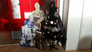 Star Wars Themed Christmas Tree
