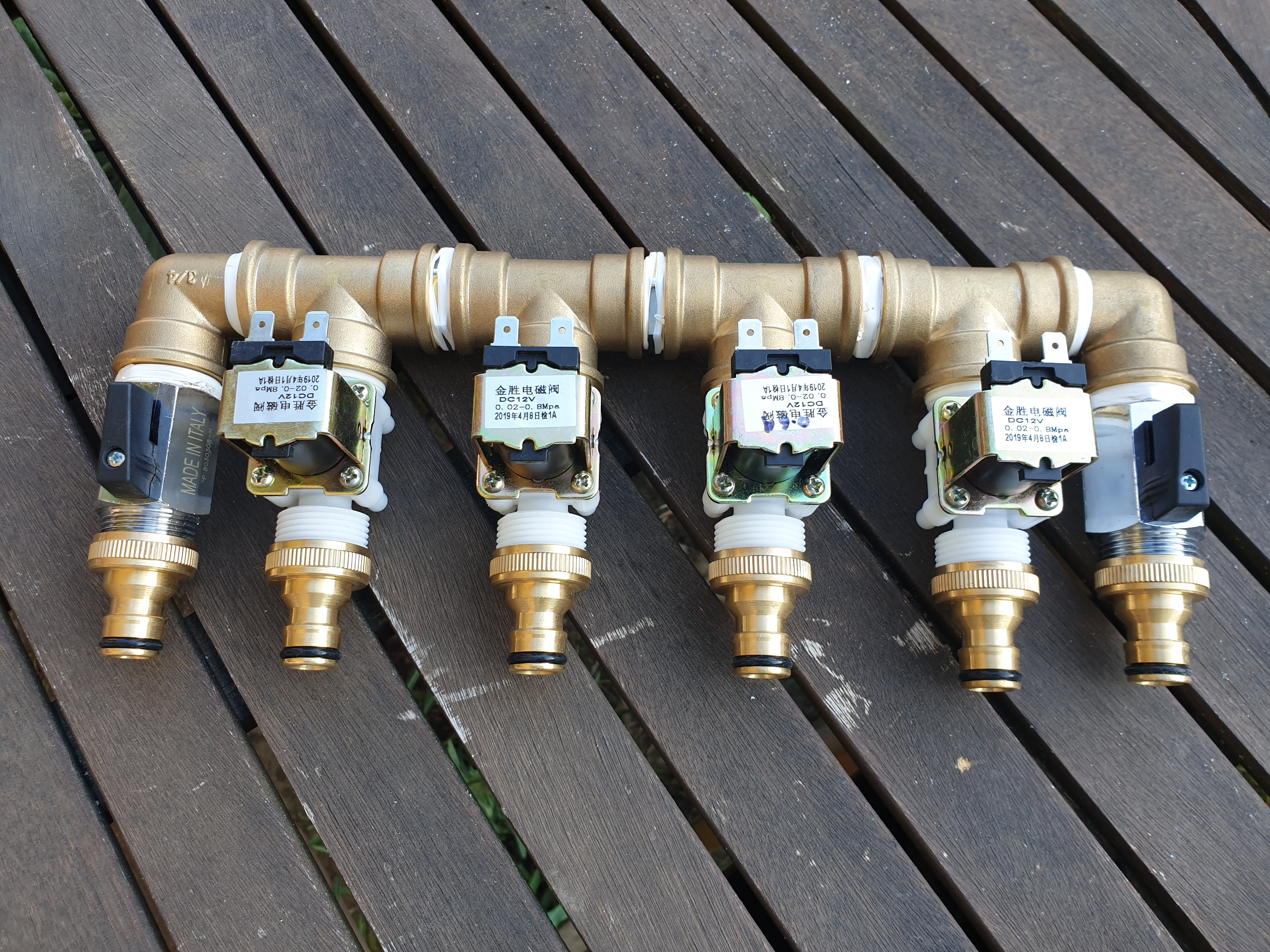 Automatic Watering System Manifold